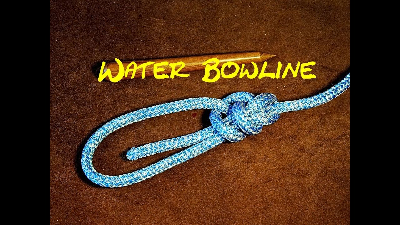 water bowline a very secure knot how to tie a very secure loop