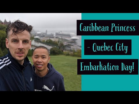 Caribbean Princess Canada And New England Cruise Day One Embarkation