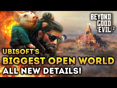 Beyond Good And Evil 2 - New Gameplay Details! Images! Pets And Customization (PS4, Xbox One, PC)