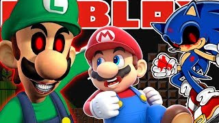 ROBLOX Luigi , Mario , & Sonic , *SpoopY*