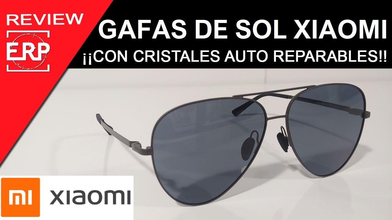 Gafas de Sol XIAOMI. ¡¡Con cristales AUTO REPARABLES!! Adiós a los arañazos.