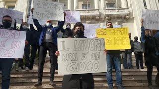 Sanremo, i dipendenti del casinò chiedono la riapertura della casa da gioco
