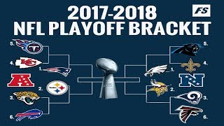 2018 NFL PLAYOFF PREDICTIONS! YOU WONT BELIEVE THE SUPER BOWL CHAMPION! 100% CORRECT BRACKET!
