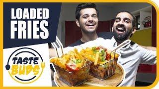 4/8   The Ultimate Loaded Fries   Taste Buds