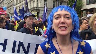 Londra, gli italiani al corteo contro la Brexit: