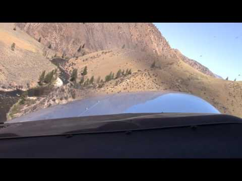 Idaho Backcountry Flying; Mahoney Takeoff; Bob and Neil; Cessna 206; USFS