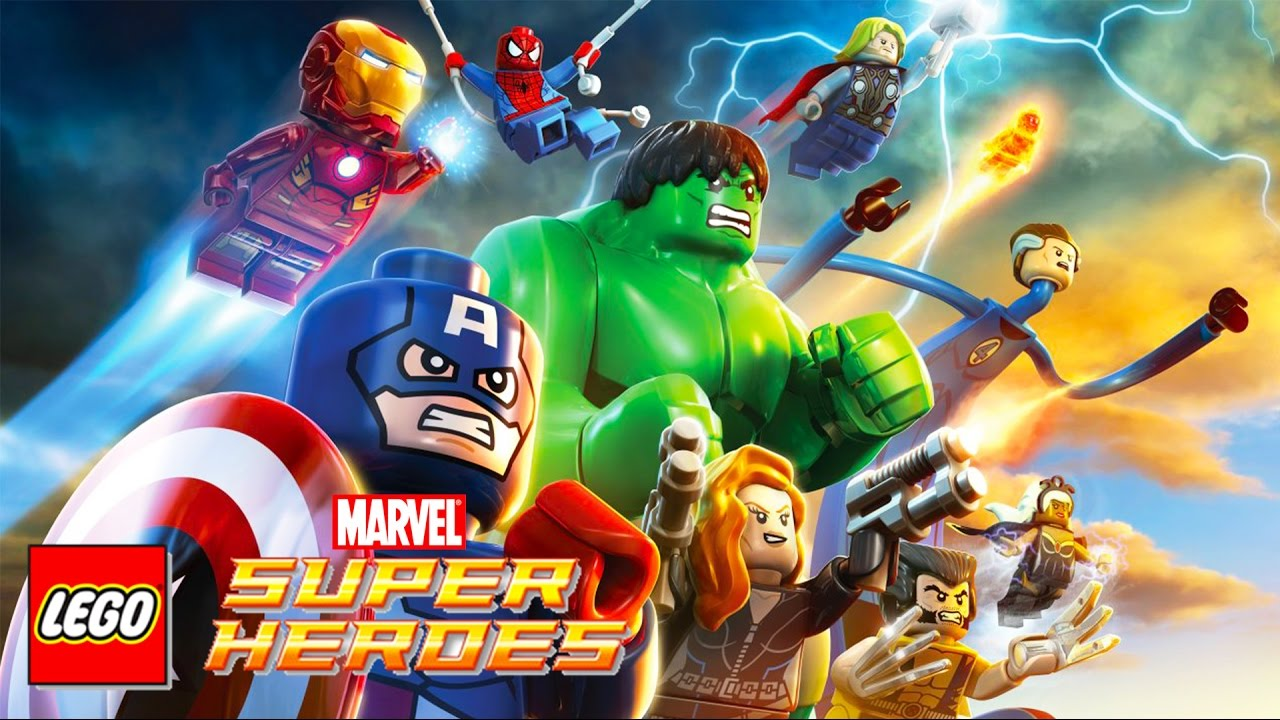 Lego Marvel Super Heroes Lego Videos For Children Kids Games Youtube