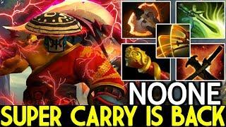 NOONE [Juggernaut] Super Carry is Back Unreal Damage 7.23 Dota 2