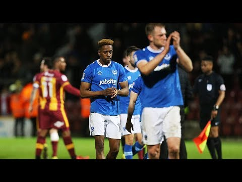 Highlights: Bradford City 3-1 Portsmouth