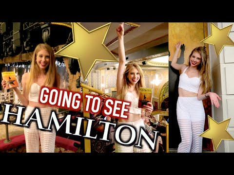 GOING TO SEE HAMILTON!!!!