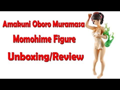 NSFW*** Amakuni Oboro Muramasa Momohime Figure Unboxing