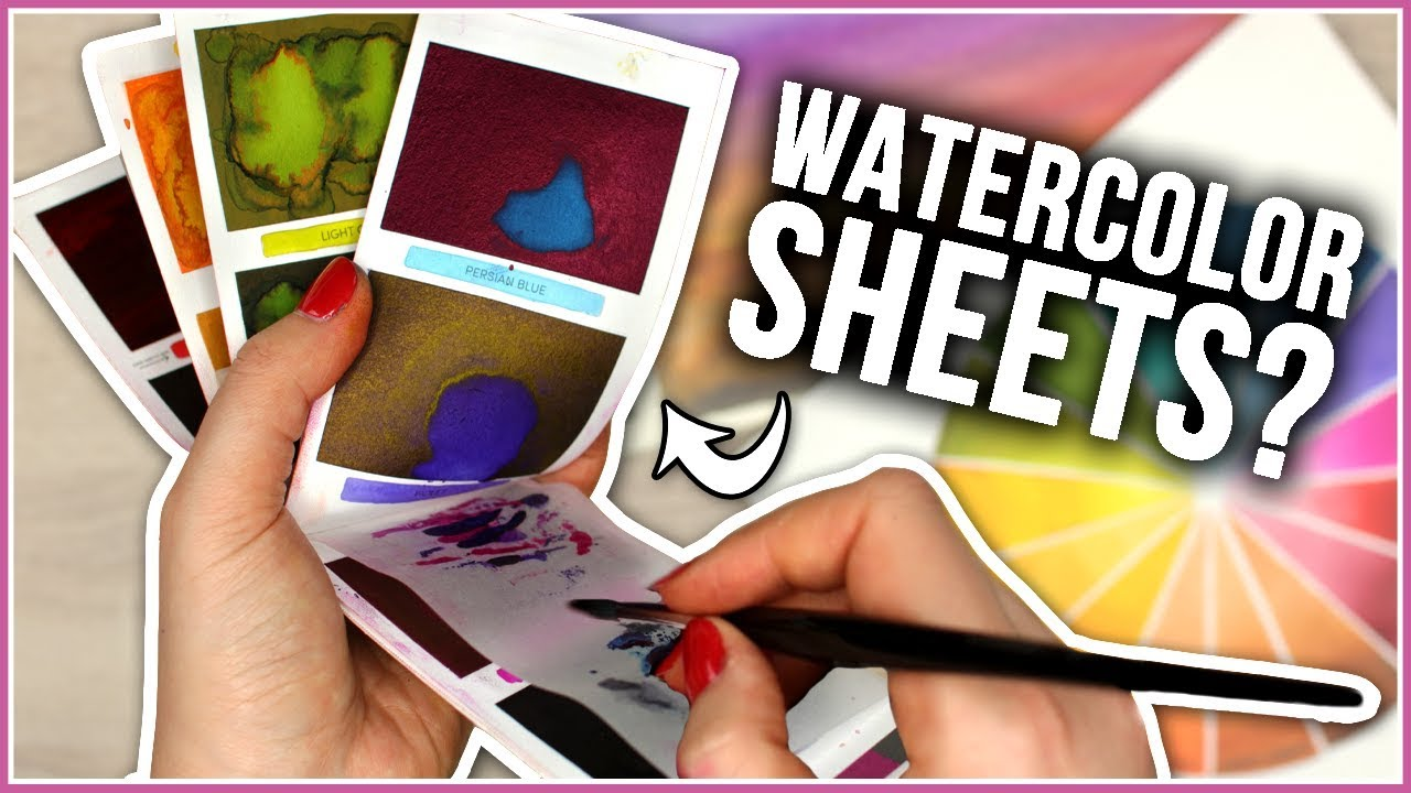 Worth The Hype Testing Viviva Peerless Watercolor Sheets Youtube