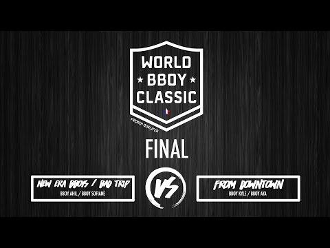 NEB/BTC vs FRM DT - World Bboy Classic 2017 - French Qualifier - Final