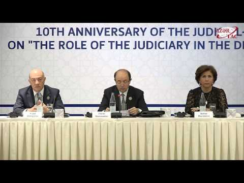 Baku hosts international conference marking 10th anniversary of Judicial and Legal Council