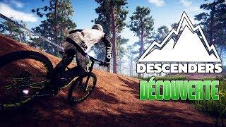 Découverte d'un jeu de descente : Descenders [FR - PC]