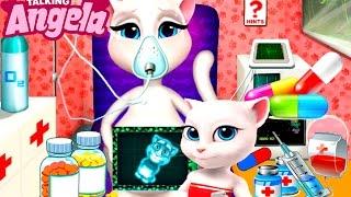 Говорящая Кошка Анжела в больнице Детские Мультики Мультфильмы для девочек и мальчиков Children TV