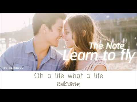 Learn to fly - The Note | เนื้อเพลง/แปล