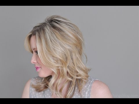 Just Bend The Ends Hair Tutorial Youtube