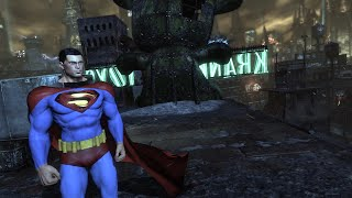 Batman: Arkham City: Superman Mod