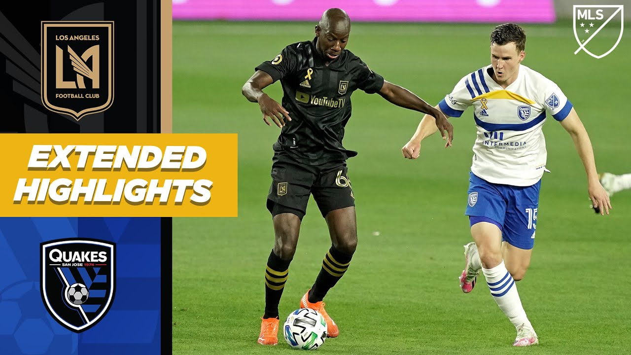 LAFC vs. San Jose Earthquakes | September 2, 2020 | MLS Highlights