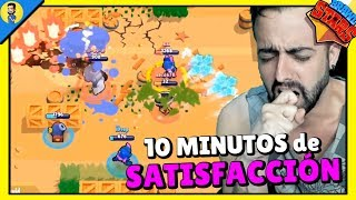 10 MINUTOS DE SATISFACCIÓN | Clips y Funny moments BRAWL STARS