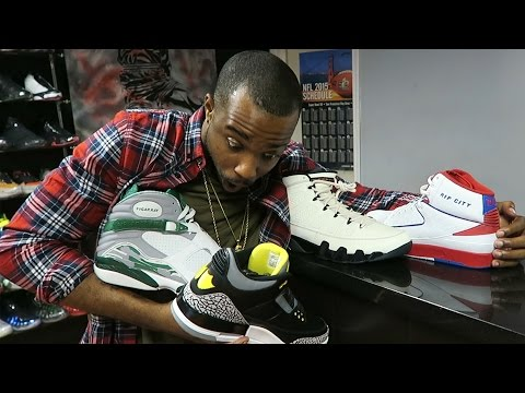 THREE THOUSAND DOLLARS WORTH OF RARE JORDANS! BUYING MORE HEAT! KILLING CLOWNS! Sneaker Vlog Ep. 39
