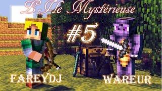 [FR] l'Île Mystérieuse de Jules Verne - La caverne hostile - Episode 5 - Minecraft CTM