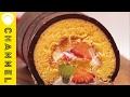 恵方巻き風ロールケーキ   Roll Cake Like Sushi Rolls の動画、YouTube動画。