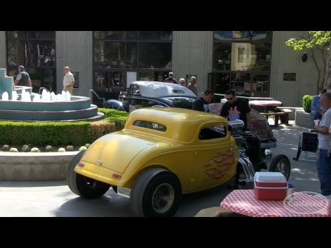 Hot Rod Magazine 65th Anniversary Car Show in Pomona from Eastwood
