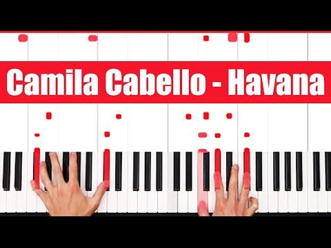 Havana Camila Cabello Piano Tutorial - INSTRUMENTAL