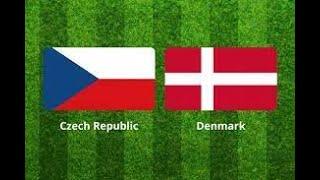 repubblica ceca vs danimarca euro2020 live