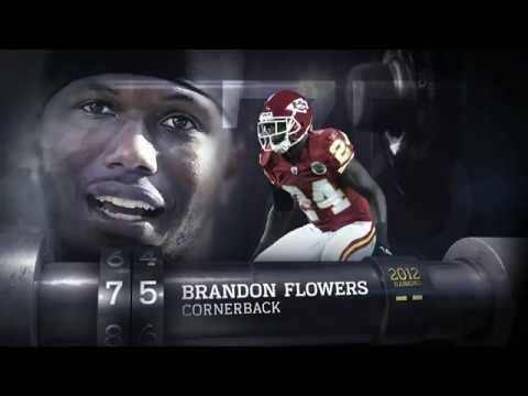 #75 Brandon Flowers (CB, Chiefs)   Top 100 Players of 2013   NFL
