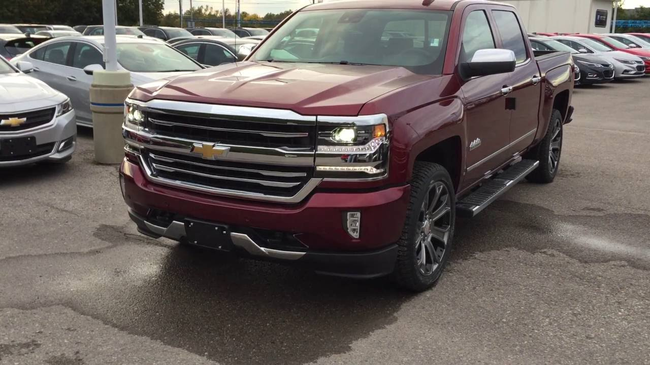 2017 chevrolet silverado 1500 4wd crew cab high country roy nichols motors courtice on youtube. Black Bedroom Furniture Sets. Home Design Ideas