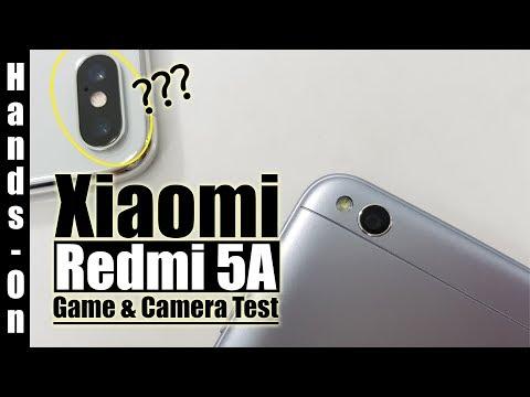 Hands-On : Xiaomi Redmi 5A Indonesia : Game & Camera Test