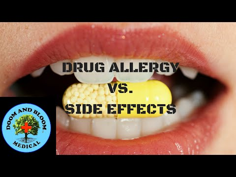 Drug Allergy vs Side Effect: How to Know