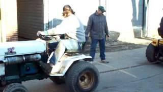 bolens ht23 vs cub cadet 1572 super garden tractor tractor pull