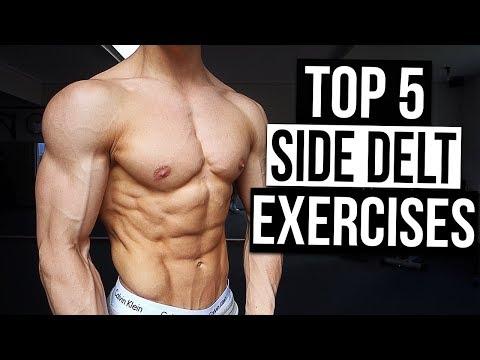 4 Side Delt Exercises You Need For Broader Shoulders