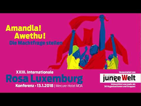 Livestream der Rosa-Luxemburg-Konferenz 2018