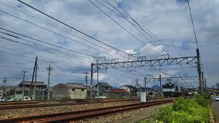 JR貨物 2071列車 EF64 1009号機[愛]+コキ車20両編成