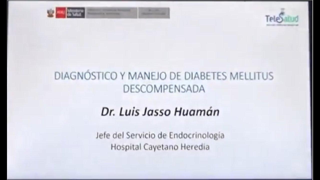 diabetes mellitus tipo 1 descompensada