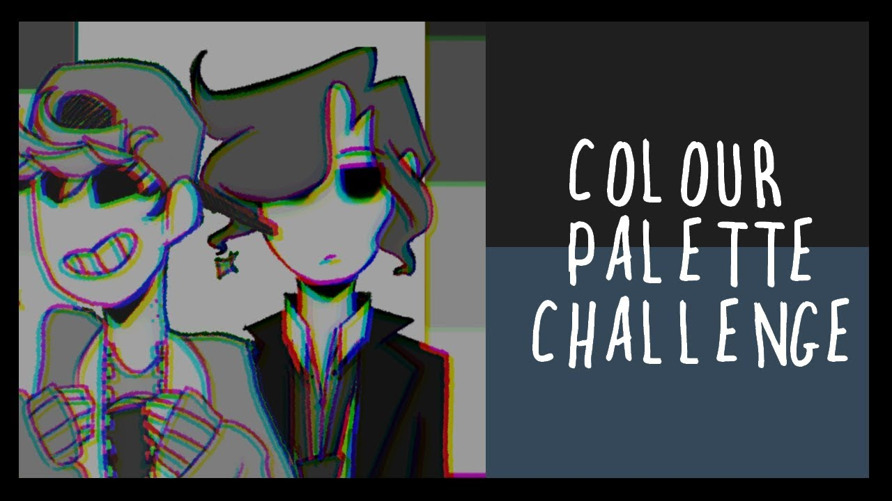 Colour Palette Challenge Character Design Youtube