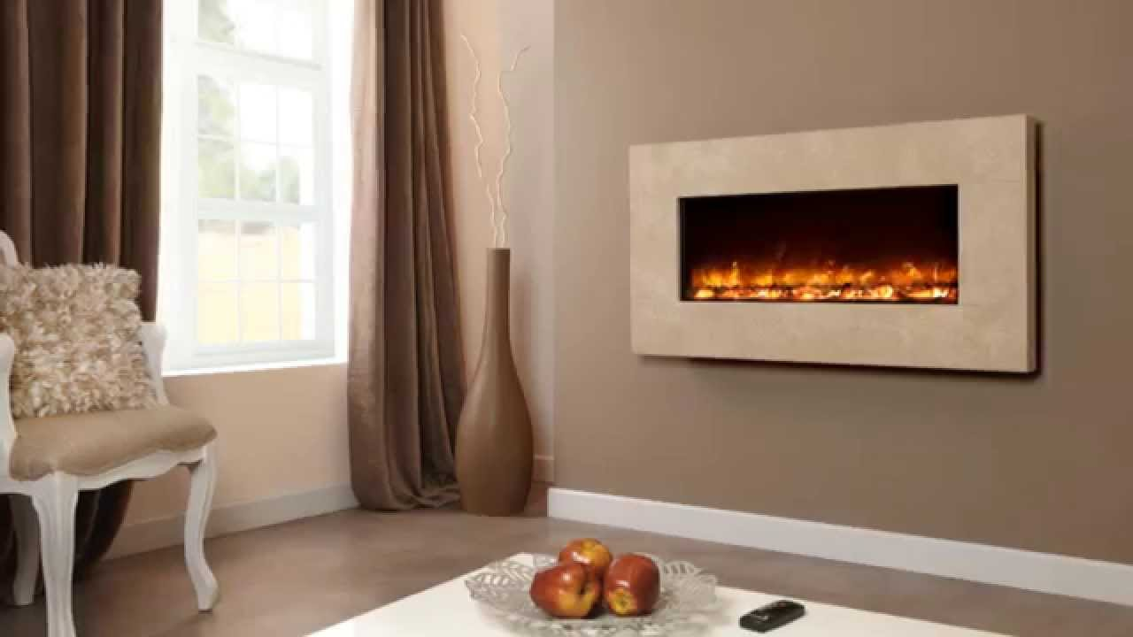 celsi electriflame travertine wall mounted electric fire installing wall mounted gas fires Destiny Hearthflame 95 Electric Wall Fireplace