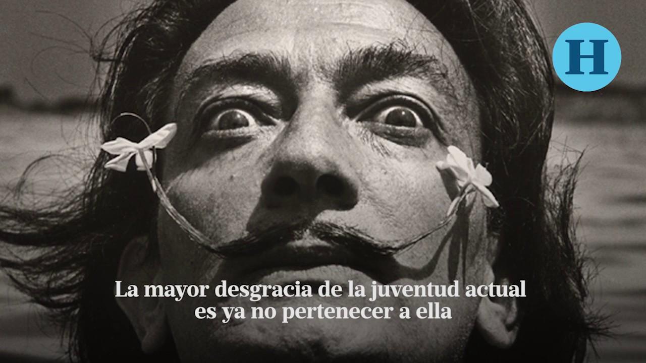 Salvador Dalí Y 10 De Sus Frases Más Memorables