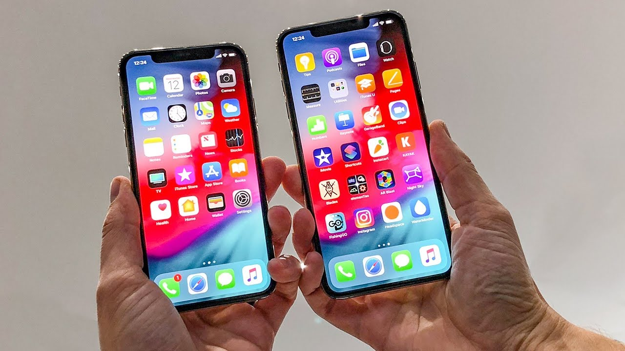 iPhone XS and XS Max hands,on