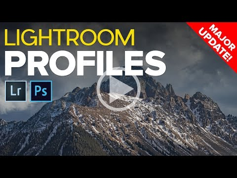 Major Lightroom Update - Creative Profiles and LUTs Are Here!