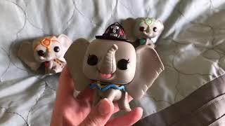 Funko Pop Dumbo Live-Action movie pops Review