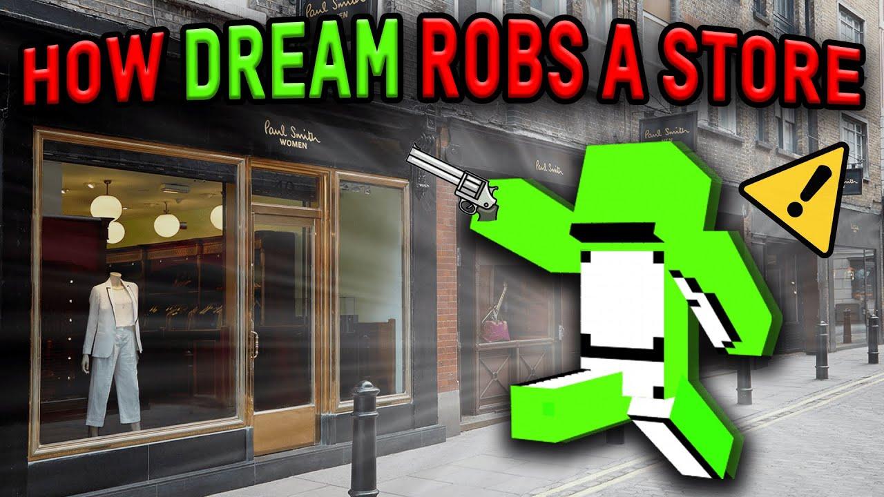 How Dream Robs A Store (Insane Parkour)