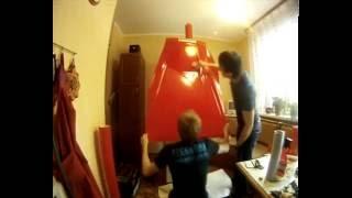 Оклейка холодильника виниловой пленкой РЕКОЛОРС(, 2013-04-07T17:35:44.000Z)
