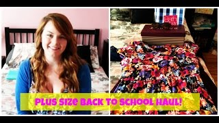 Plus Size Back To School TRY ON Haul!  (Fall 2014) Thumbnail