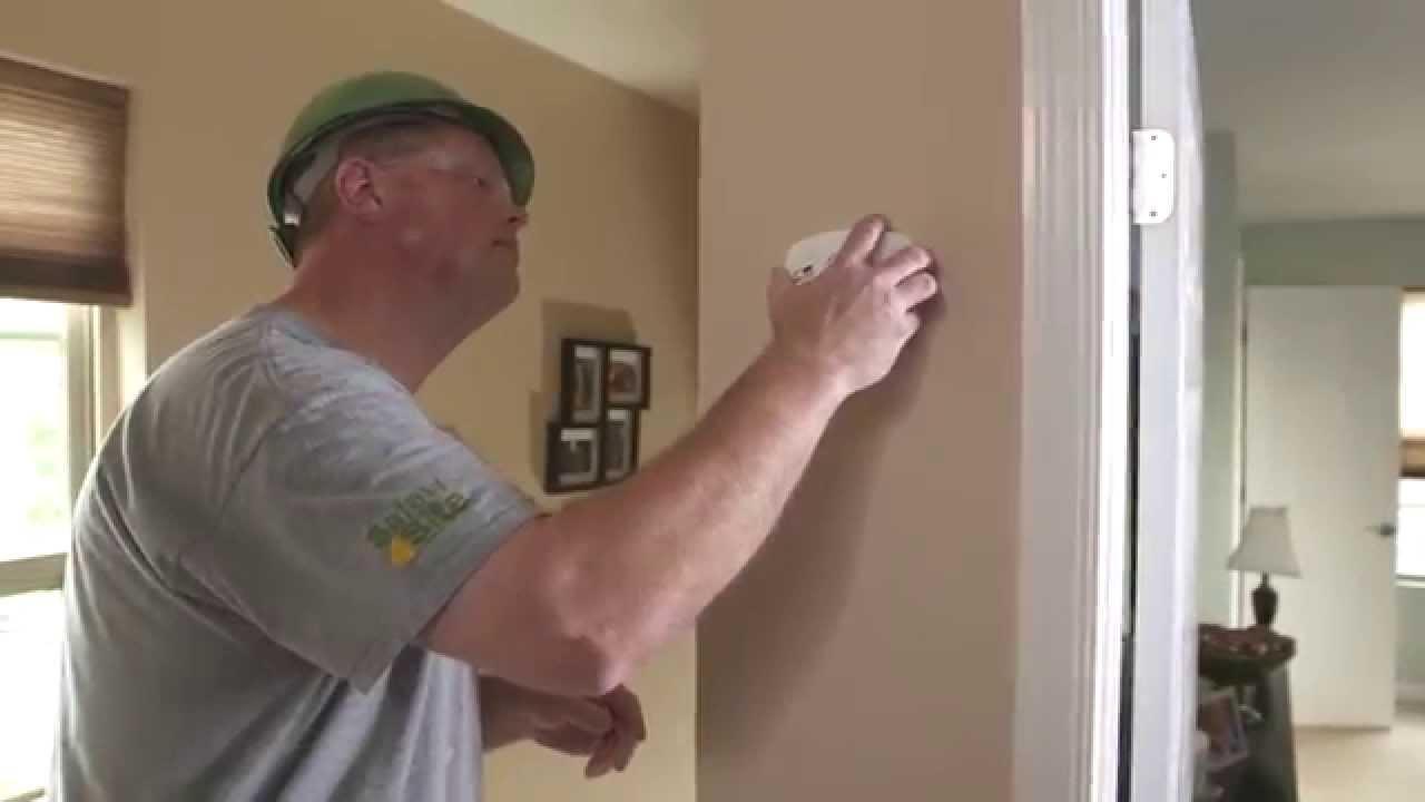 Smoke Carbon Monoxide Detector Installation